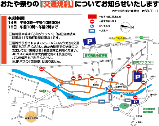 Oda and traffic control diagram