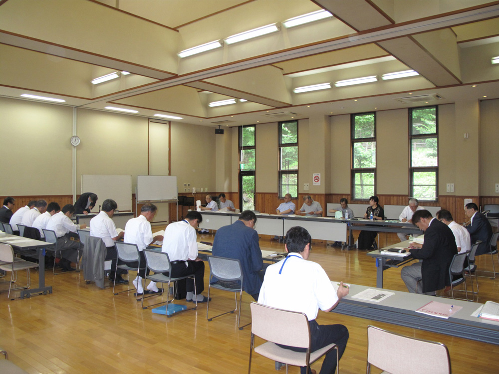 State of the 11 Nagawa-machi district creation promotion meeting