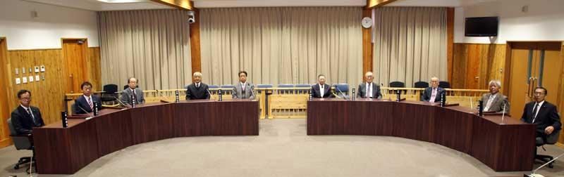 Nagawa town council members