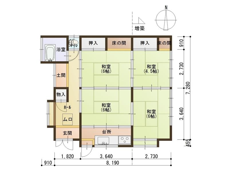 魔靈_池田屋1樓平面圖