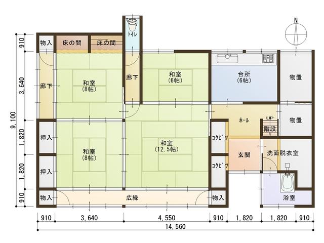 和田_田中別墅2層平面圖